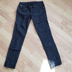 ❤ NEW!! Armani Exchange distressed jeans